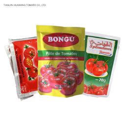 La pâte de tomate en conserve de haute qualité