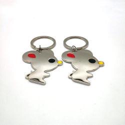 귀여운 마우스 열쇠 고리 만화 동물성 Keychain 금속 소형 마우스 Keychain 펀던트 남자 여자 아이 선물