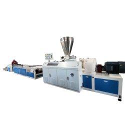 Sjz55/120+Yf300 painéis de azulejos de parede de PVC da linha de produção de extrusão com a transferência de calor da linha de laminação on-line