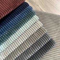 Cord Stoffe Textil Streifen Stil für Möbel