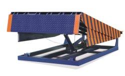 Base Móvil Industrial Niveladora de la rampa de carga de contenedores de almacén de elevación de la plataforma de trabajo