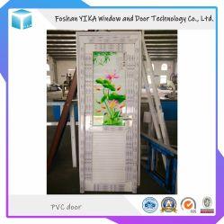Solo Panel PVC PVC// UPVC la puerta de bisagra fabricado en China
