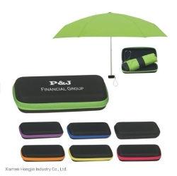Faltender Regenschirm Pocket Kasten-Kasten-bewegliche Supermini5 für Förderung