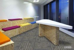 DC125 Commercial Hotel Home Office Carpet Tiles Nylon Pet PP Carpet Hospital Carpet Stairway Carpet Rugs