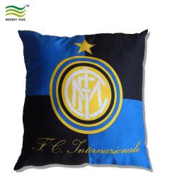 Equipo de Fútbol Club Logotipo Costum Cojín de algodón/Almohada cubierta (B-NF42F23013)