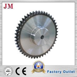 Fabbricazione della ruota dentata doppia standard della catena di convogliatore del rullo di riga