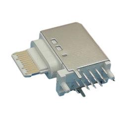 Connecteur femelle de type C côté base Insérer, 16POS, plastique