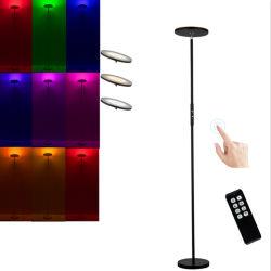 Linterna de LED RGB de 30W luz toque atenuador, el cambio de color con mando a distancia