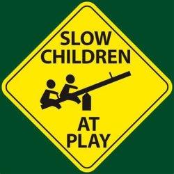 Divertido niños jugando signo Educación Reflective aluminio tráfico carretera Advertencia Placa de signos