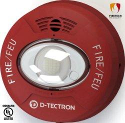Система пожарной сигнализации UL настенные и потолочные Звуковой оповещатель/звуковой и световой оповещатель для приложений Indoor-Use Dt961r/Dt962r