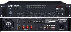 PA 방송 450W 6구역 전압 PA 앰프 페이징, 배경 음악, 공지 사항을 위한 알람 오디오 제작