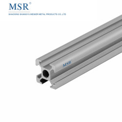 Ob1515A Aluminiumschlitz-Profil des strangpresßling-T für Werktisch