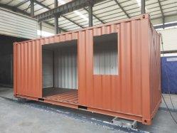 Китайский 20/40 футов с возможностью расширения сборных сегменте панельного домостроения Mobile транспортировочный контейнер дома