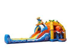 Пляж воды комбинированный замок Bouncer Combo надувные Bouncer перемычек