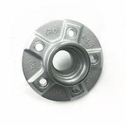 La fundición de arena personalizado de hierro fundido gris cubos de rueda del eje de la carretilla