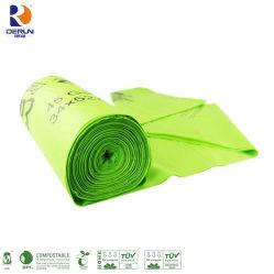生物分解性のごみ袋、生物分解性のごみ袋、生物分解性のポリ袋のトウモロコシ澱粉袋