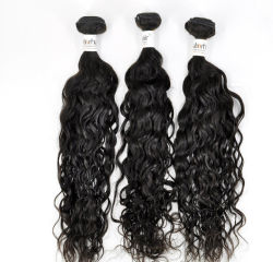 100%のフランス人の波9Aの加工されていないバージンの人間の毛髪の拡張