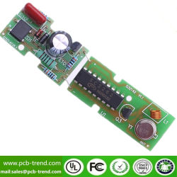Placa de circuito impresso PCB de desenvolvimento e concepção de Campainha sem fio da Placa de Controle de Flash de voz Single-Chip Openpc personalizada