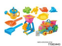 Spielzeug des Lastwagen-10PCS stellte für Kind-Strand-Spielwaren ein