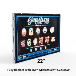 22-дюймовый полностью заменить совместимых 3m Microtouch C2234sw слот игры на открытой раме Multi-Touch экран светодиодный монитор с сенсорным экраном дисплея для казино рулетка машины