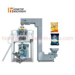 Machine van de Verpakking van de Snack van de Chips van de Noten van het Voedsel van de plastic Zak de Droge Automatische Wegende