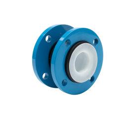 DN150 PN16 Compensador flexible resistente al agua de la brida de SS304 de expansión de PTFE juntas de goma
