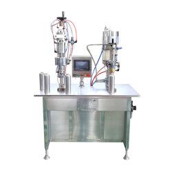 Saco de venda direta de fábrica na válvula Aerossol pode máquina de enchimento de crimpagem