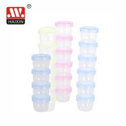 Kleiner Plastiknahrungsmittelbehälter-Speicher