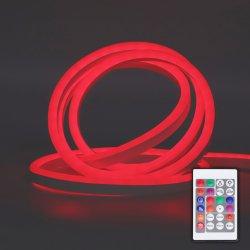 Суперяркий водонепроницаемый Smart гибкий неон светодиодный индикатор полосы неоновыми индикаторами ожидающего Напольный светодиодный индикатор LED неоновые лампы ленты декор лампа освещения праздника
