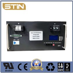 LiFePO4 48V Batería de Almacenamiento de Energía Solar Tipo de bastidor para el Sistema Solar o UPS o el uso de telecomunicaciones