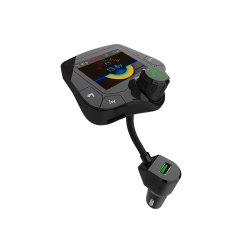 G24 HD цветной экран автомобильный комплект многофункциональный автомобиль Bluetooth MP3-плеер комплекта Громкоговорящей Связи Радиотелефона вызов автомобильный комплект