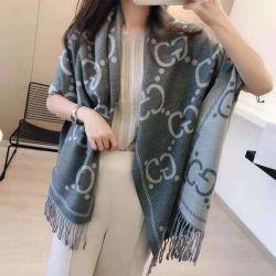 Senhora de moda muito quente Velvet Mulheres Prémio de inverno Xale Chiffon