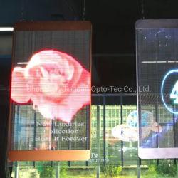 1,5*1m P РП3.91 окно внутри прозрачного плакат со светодиодной подсветкой стеклянный экран
