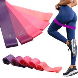 Le yoga de haute qualité au niveau de résistance Crossfit Bandes 5 bandes élastiques en caoutchouc pour une salle de Gym Sports de remise en forme