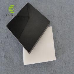 UHMW-PE/peças em forma de HDPE preto e branco da placa de PE