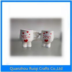 Keramisches Wasser-trinkende Flaschen-Kaffee-Geliebt-Cup-Sets