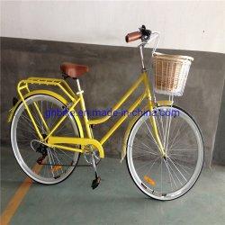 Velocidade 7 Senhoras Vintage City Cruiser Retro Senhora bicicletas híbridas