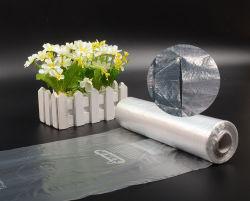 PE bolsa de plástico biodegradable transparente de la alimentación de la bolsa de congelador de plano la bolsa de arroz y verduras en el rollo con la impresión con el precio de fábrica