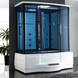 Multifunctional com duche e banheira de hidromassagem sala de vapor chuveiro para 2 Pessoas