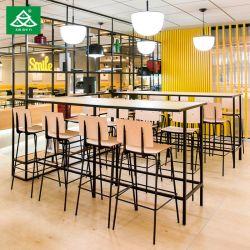 현대 호텔 대중음식점 가구 바는 Barstool 식탁으로 놓았다