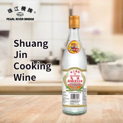 ワイン500mlの中国の白ワインを調理している真珠の川橋Shuangジン