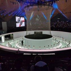 Hot Sale 3D'ÉCRAN Net Holo de maille de la gaze pour les grandes hologramme Holo Show