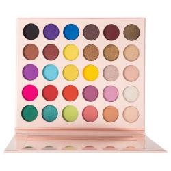 Commerce de gros 30 Glitter couleur fard à paupières Fard pigmentées de palette de produits cosmétiques