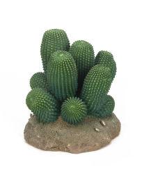 Oferta de la fábrica de paisajismo de Reptiles de ornamento pequeño cactus artificiales decoración Plantas de bola