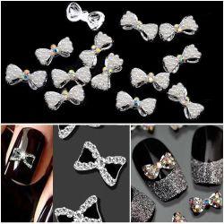 Perla di pietra di cristallo di scintillio di bellezza del chiodo dell'autoadesivo delle perle del polacco di chiodo