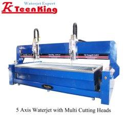 Cusomized Teenking Máquina de corte por chorro de agua para todo tipo de materiales duros