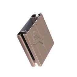 Perfil de aluminio de la serie 6061vertical en el Armario de aleación de aluminio de extrusión de perfil