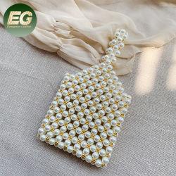 Peb04 Perlas biselado bolso de mano 2020 Mini bolso de embrague de perlas para las mujeres niñas