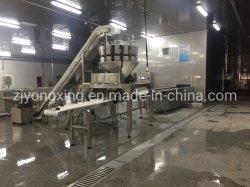 Alta capacidad de 500 kg/h-3000kg/h túnel instantánea espiral/congelador Congelador para la elaboración de productos IQF
