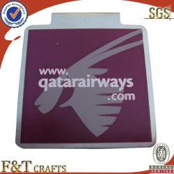 Clip de acero personalizados promocionales con logotipo de impresión (FTPC0056J)